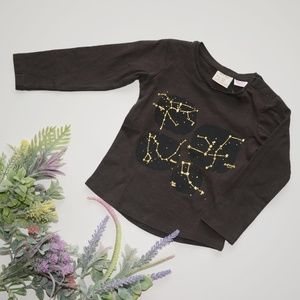 ⏰LAST CHANCE⏰ ZARA Baby Tee with Constellations